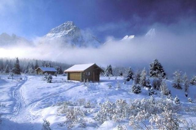 100 самых красивых зимних фотографии: пейзажи, звери и вообще 0 10f581 d1e39413 orig