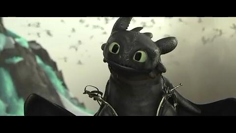 Как приручить дракона 2 / How to Train Your Dragon 2 (PSP/2014/HDRip/3D)
