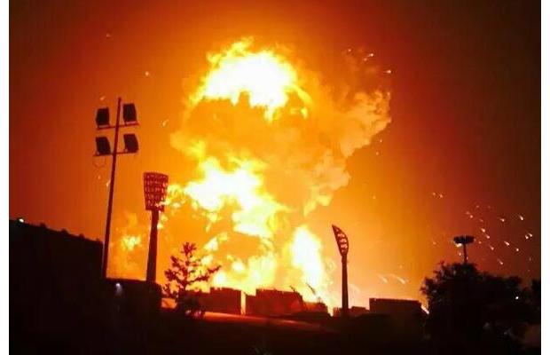 Число пострадавших во взрыве в Китае возрастает