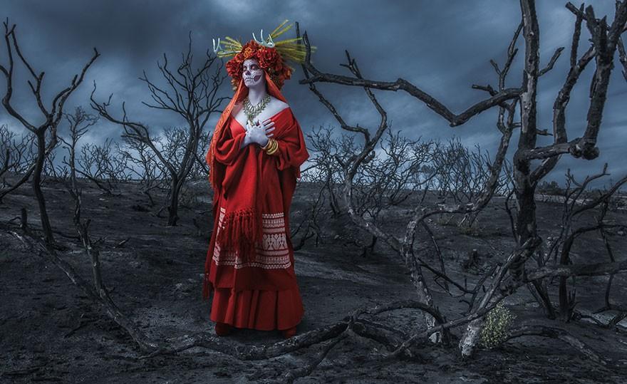 Смертельная красота богини преисподней в проекте Тима Теддеда