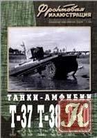 Книга Танки-амфибии Т-37, Т-38, Т-40