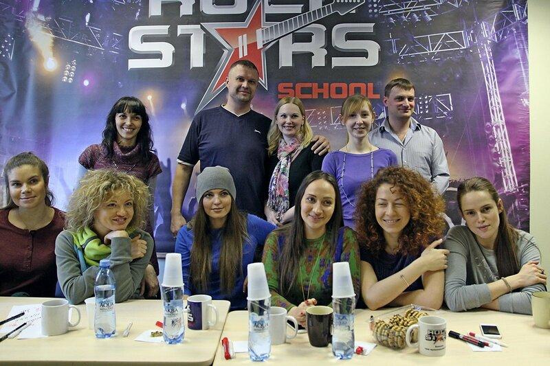 Фотосессия арт-группы «Soprano Турецкого» и школы рока Rock Stars school Киров