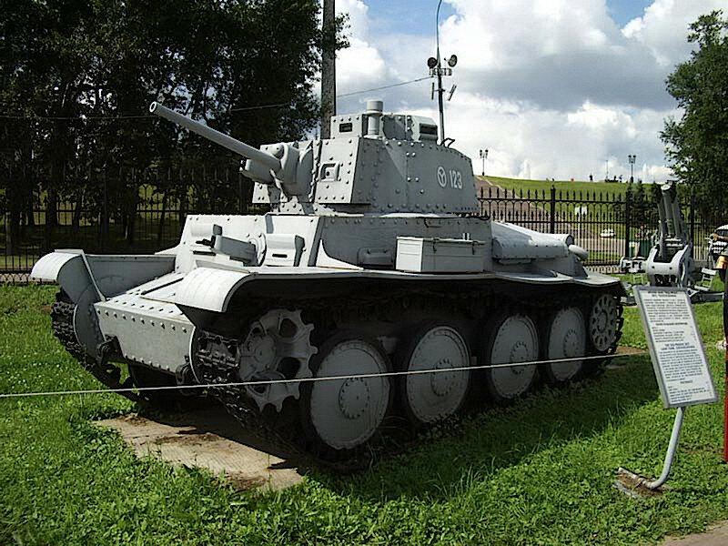 Panzerkampfwage LT-38t