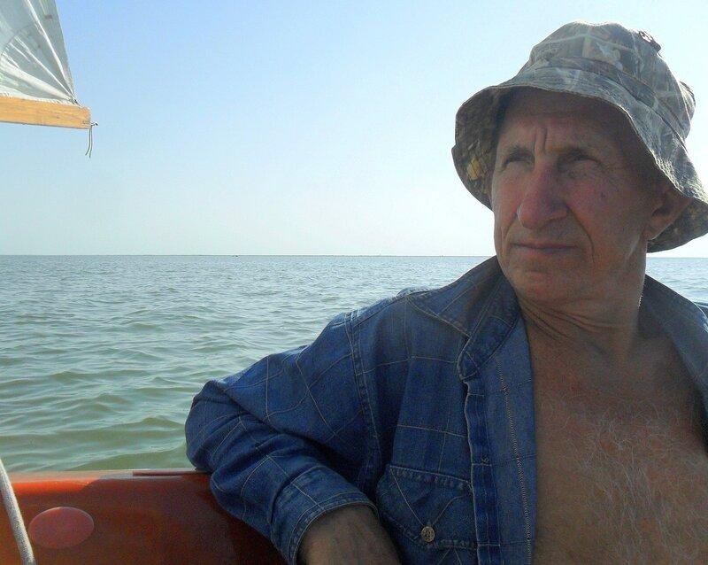 Август, яхтенный поход, Азовское море, 2014 год