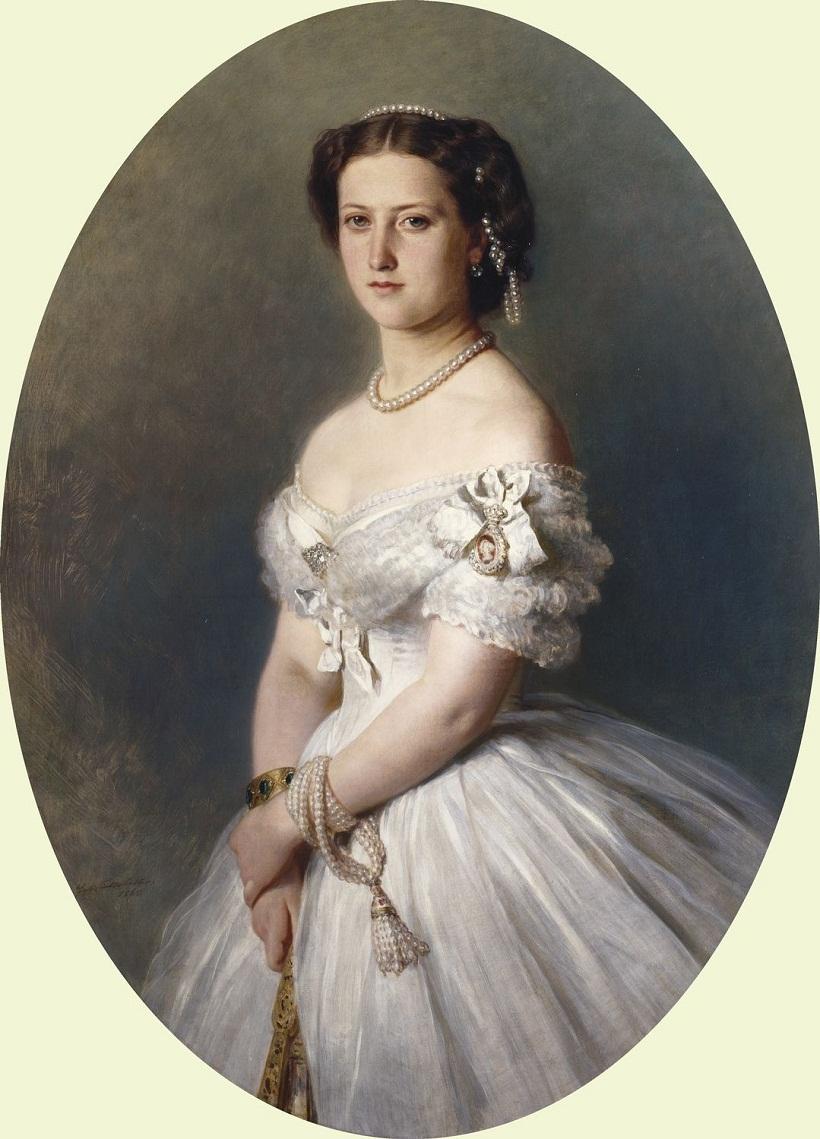 Принцесса Елена (1846-1923)  Подпись и дата 1 865