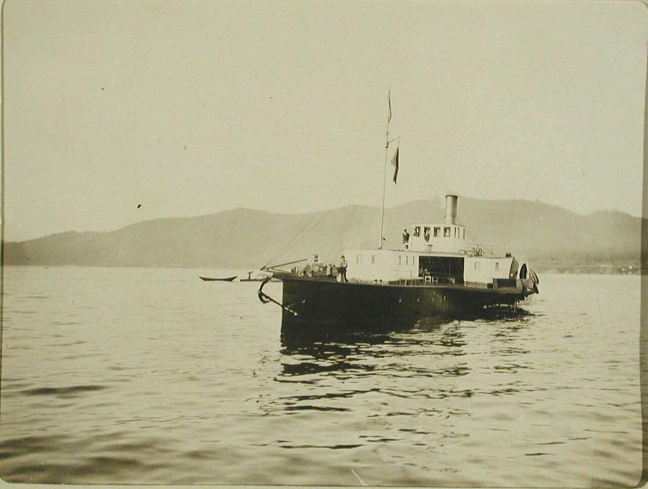 36. Арендованный частный пароход