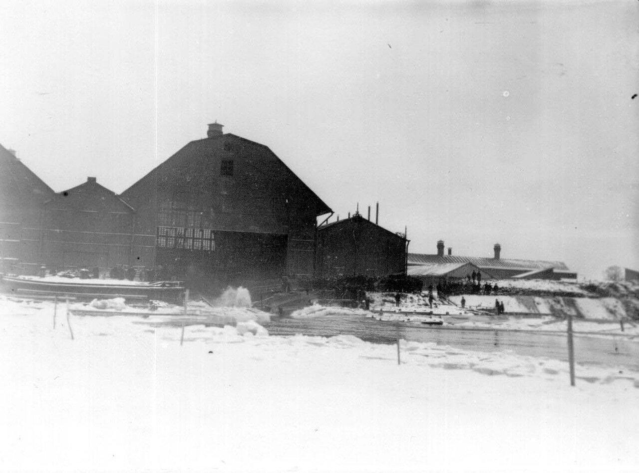 06. Момент спуска подводной лодки. Ноябрь 1907