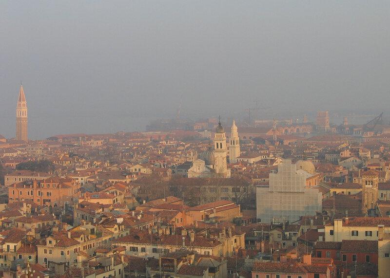 В сторону Сан-Франческо-делла-Винья и Арсенала