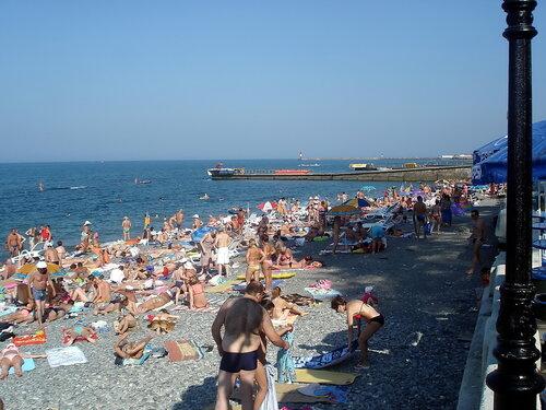 Пляж бесплатный в Сочи