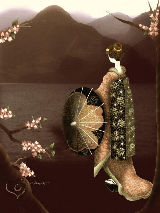"""Дуэлянты: nata82 - nuta13 Голосование: 19 - 22 апреля Тема: коллаж  """"Китайские мотивы """".  Вариант 2 -  """"Песнь о драконе """" ."""