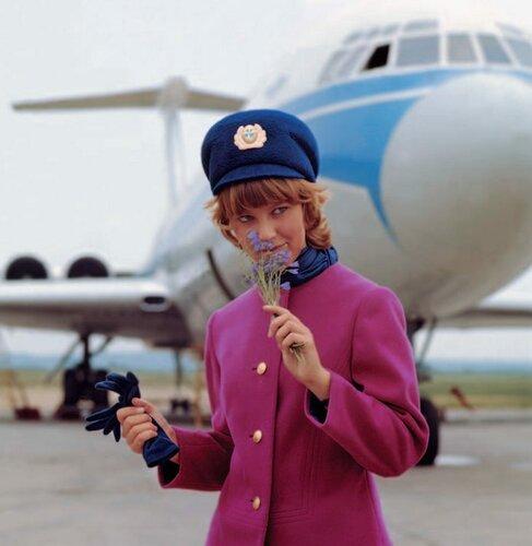 Стюардесса - USSR 1977