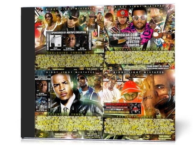 Biggy Jiggy Mixtapes - Best (2008-2009)