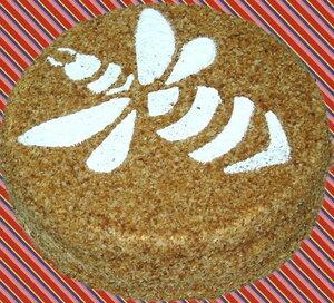 Рецепт торта Медовый