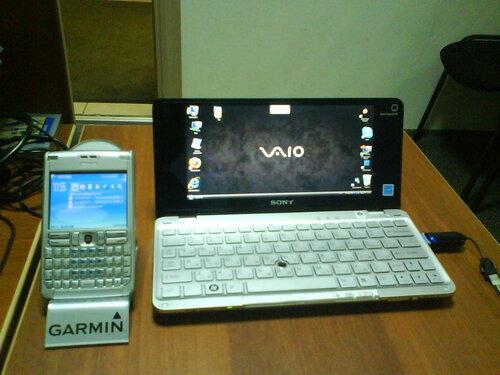 Sony Vaio P и Garmin Mobile PC