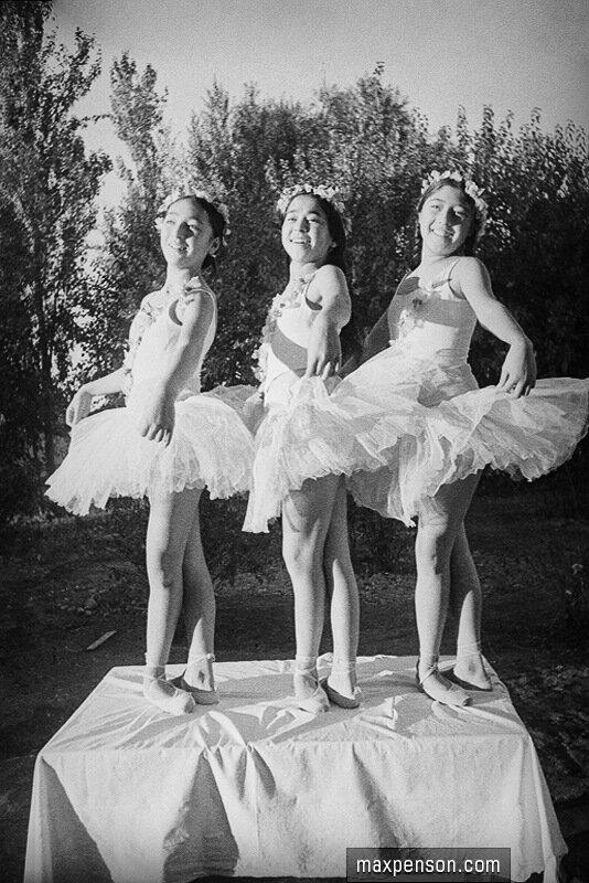 Молодые балерины