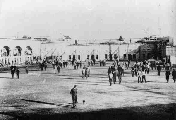 Интернированные украинцы в лагере Кингстон, Онтарио