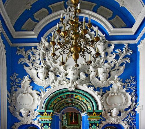 Фрагмент внутреннего убранства Ново Иерусалимского монастыря