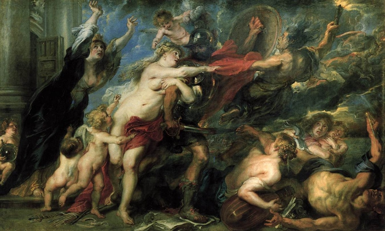 The Consequences of War, 1637-1638, by Peter Paul Rubens (1577-1640)