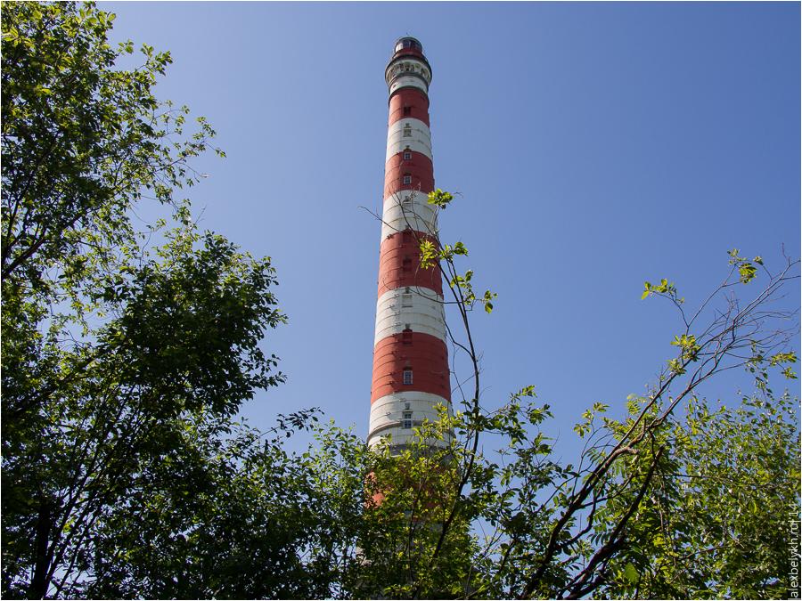 маяк в Сторожно