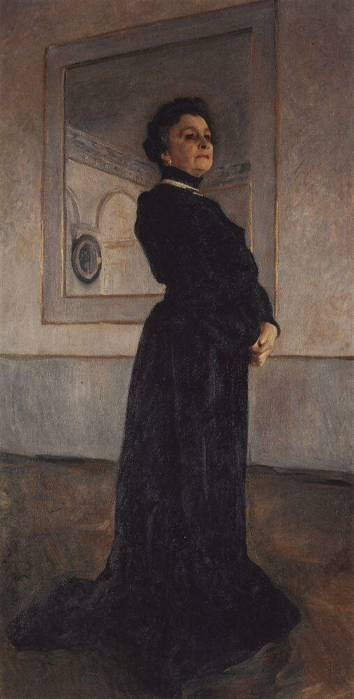Портрет артистки М.Н.Ермоловой. 1905.jpg