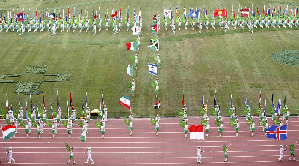 Красивые фотографии открытия XV чемпионата легкой атлетики в Пекине 0 13ff44 58ba97ce orig