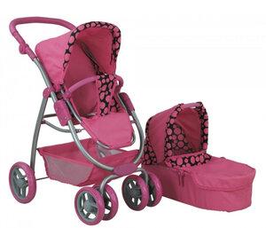 Кукольная коляска для куклы Buggy Boom 8062 фуксия.jpg