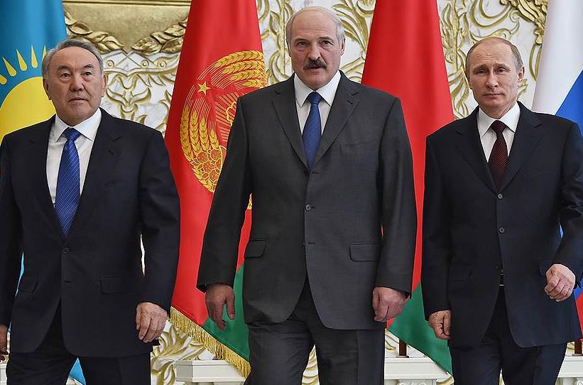 Назарбаев-Лукашенко-Путин
