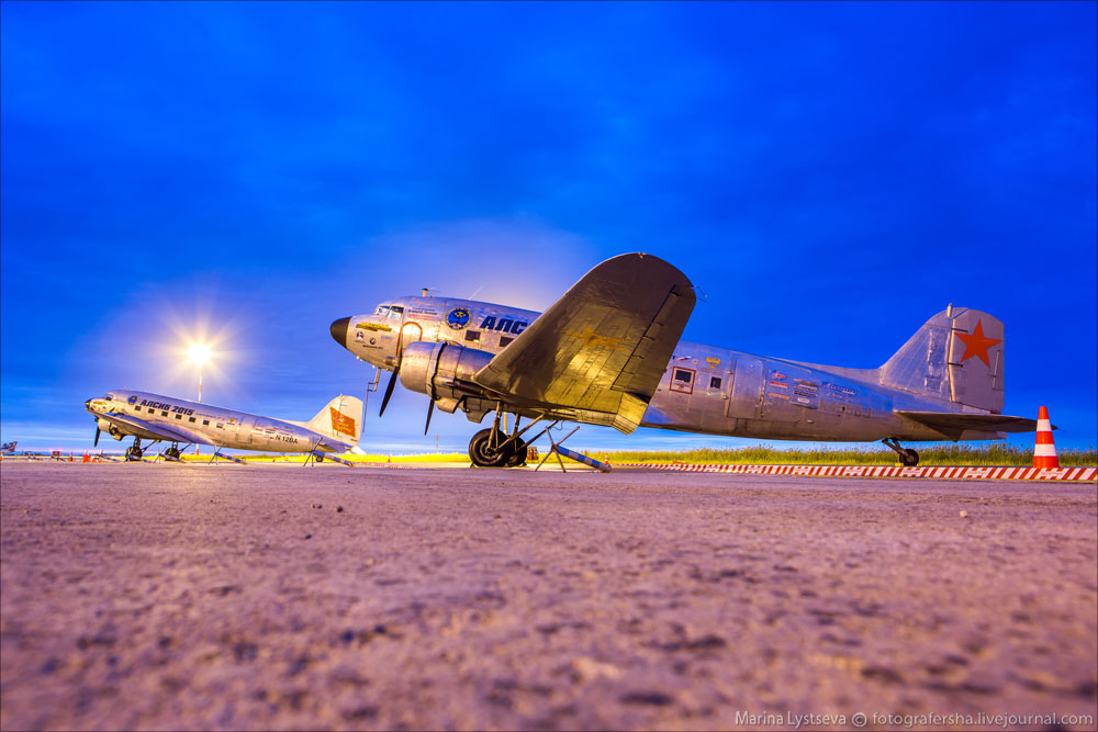 DC3 в аэропорту Якутска