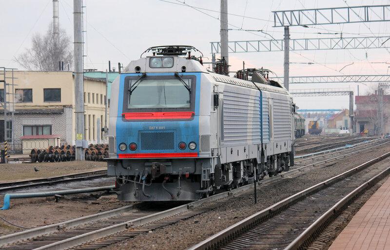 БКГ1-001 на станции Молодечно