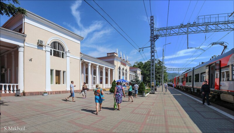 Вокзал в Туапсе_2