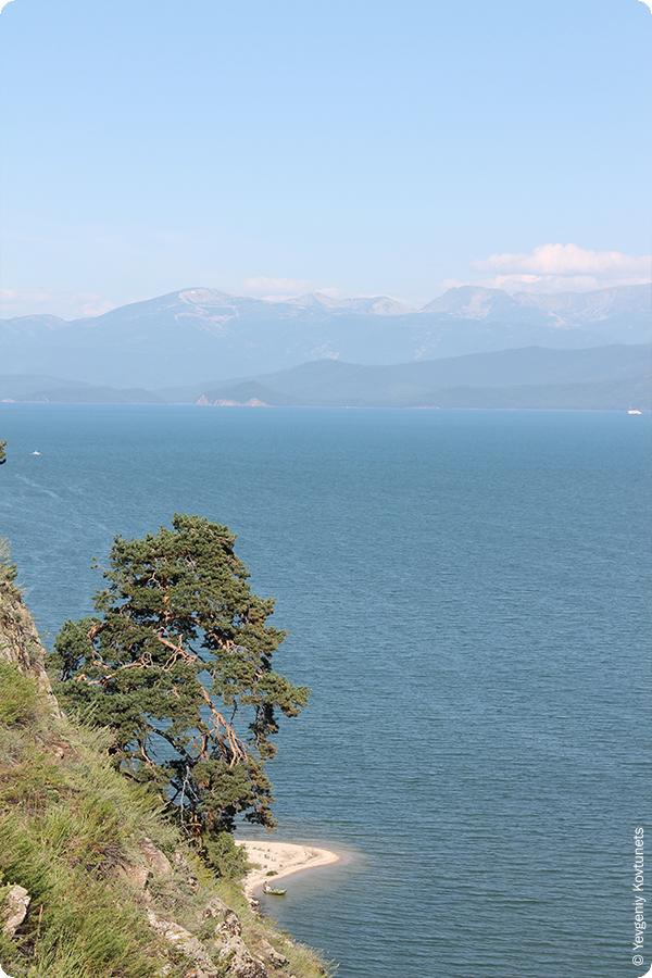 Вид на Чивыркуйский залив, Байкал