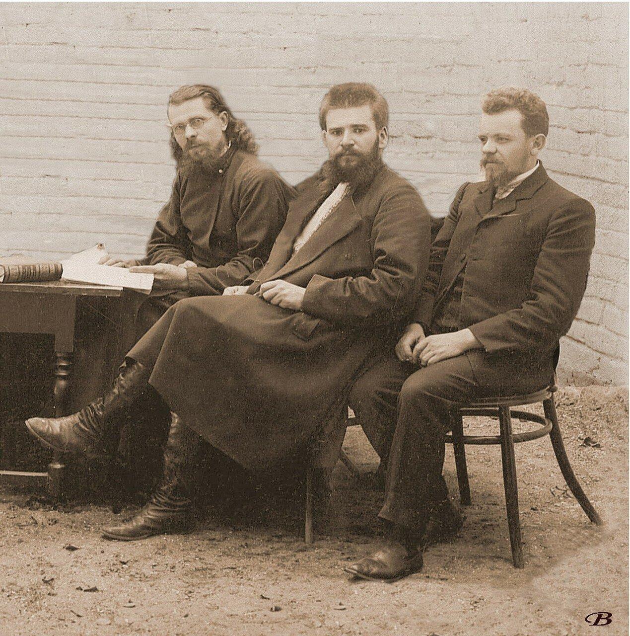 Руководители будущего журнала Старообрядческая жизнь на III съезде старообрядческих братств в Нижнем Новгороде. 1906