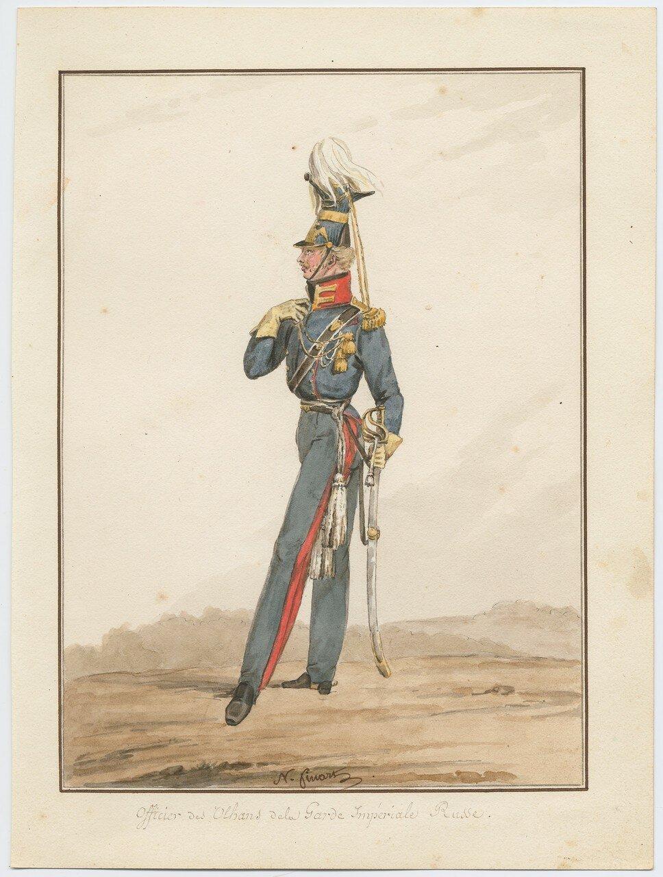 Офицер уланского полка русской императорской гвардии, 1815