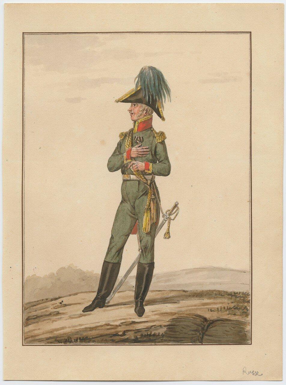 Русский офицер, 1815