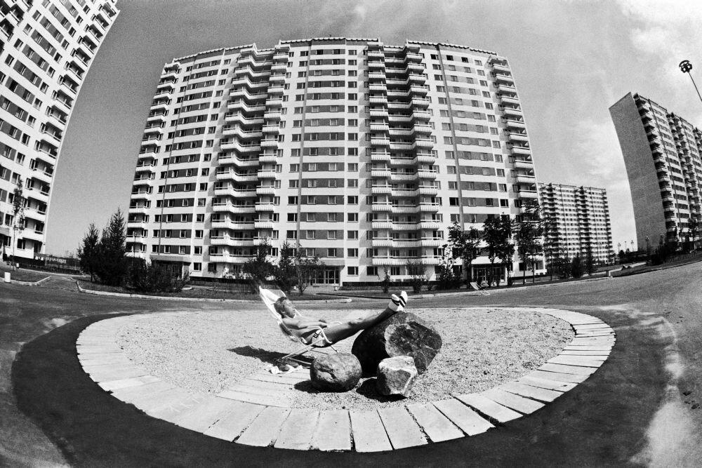 1980. Олимпийская деревня в дни проведения XXII летних Олимпийских игр