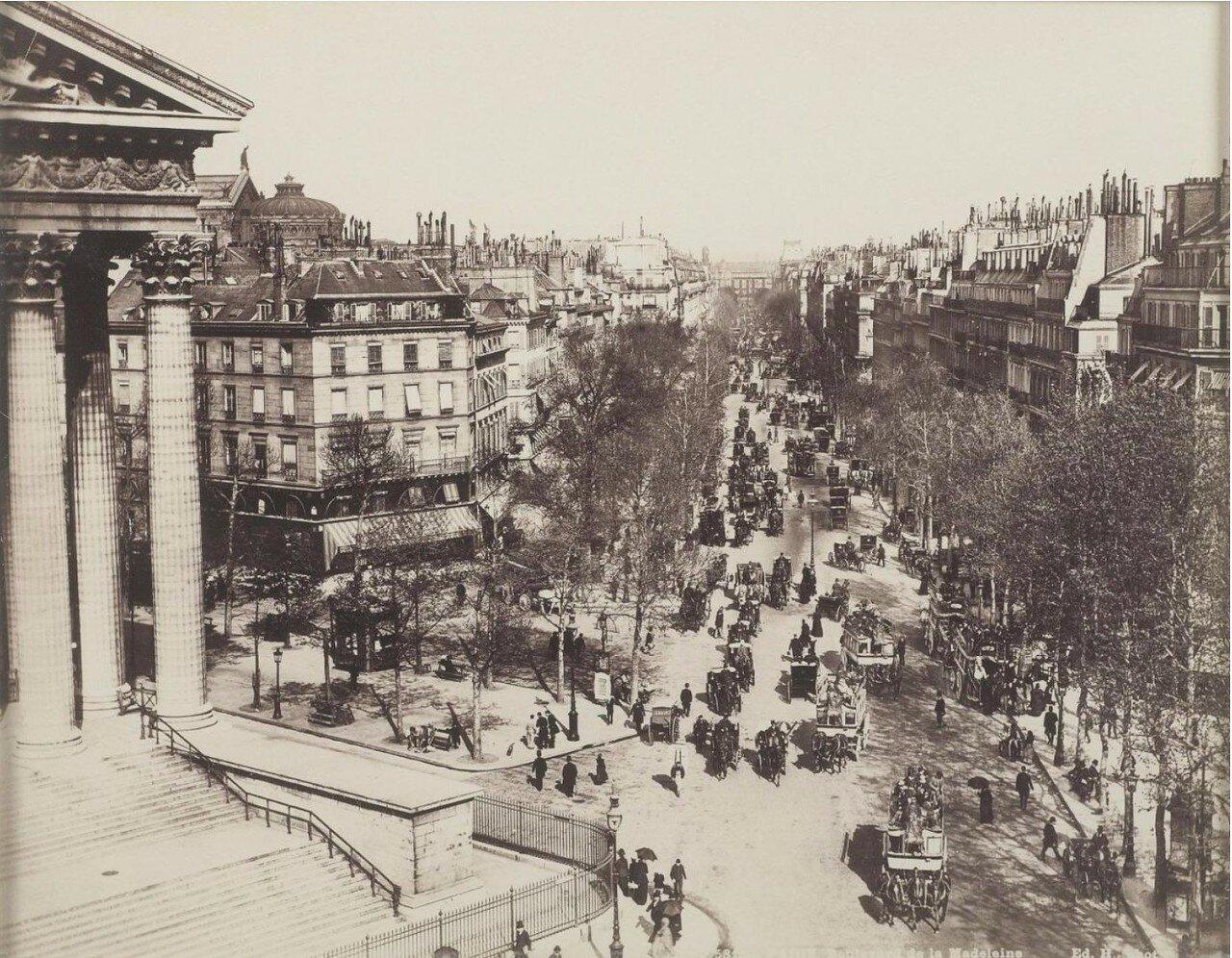 1875. Бульвар Мадлен