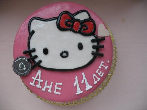 Хелло китти торт