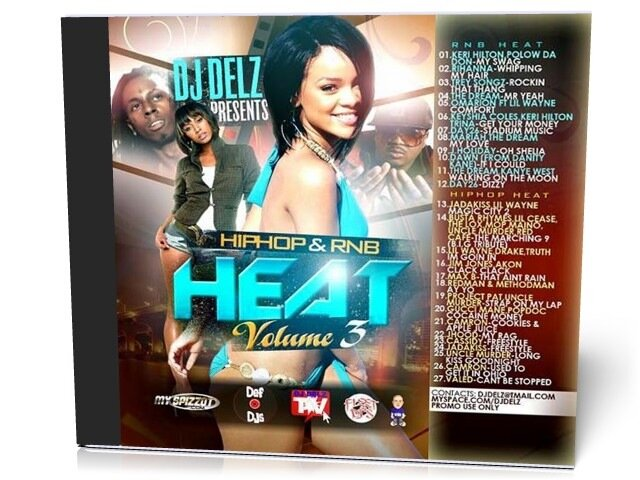 DJ Delz - Hip Hop & RnB Heat Vol 3 (2009)