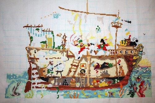 пиратский корабль 14 марта 09