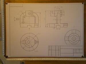 Деталирование сборочного чертежа