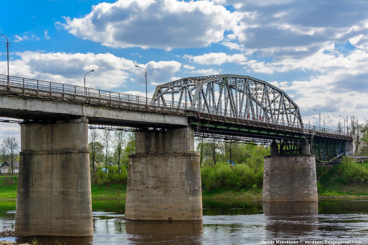 Полоцк. Юбилейный мост