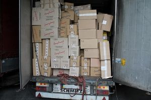 Возле Мукачево изъята контрабанда на 1,5 миллиона евро
