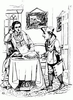 карикатура на Ирвинга