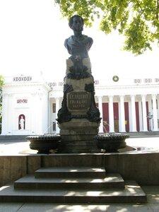 Памятник Пушкину на Приморском бульваре в Одессе