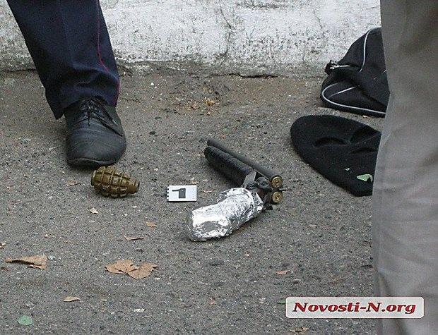 ВНиколаеве мужчина открыл огонь пополицейским ипытался подорвать гранату