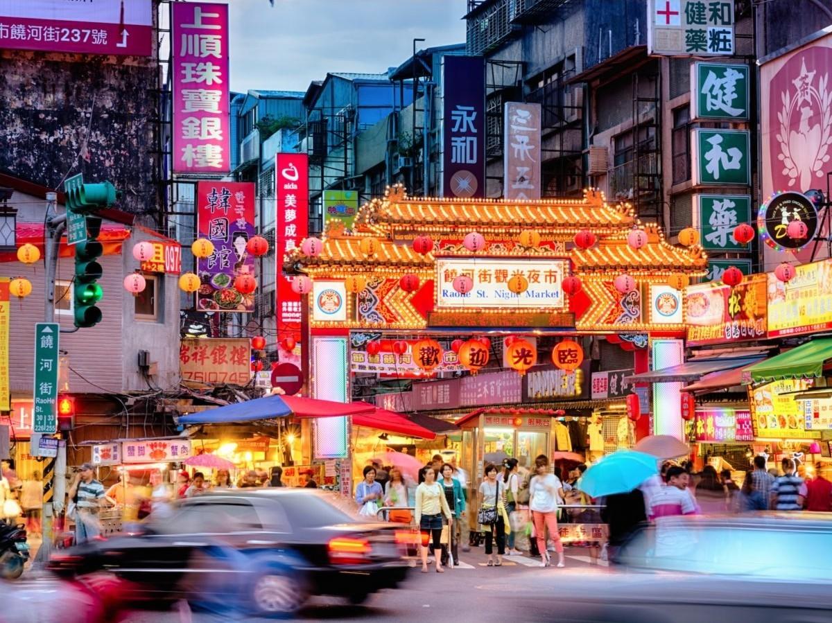 В городе Тайбэй на Тайване столько всего, что туда можно отправиться и в одиночку. Ночные рынки горо
