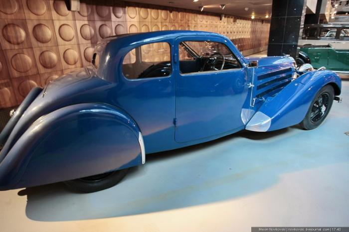 Классика компании Bugatti - Type 57