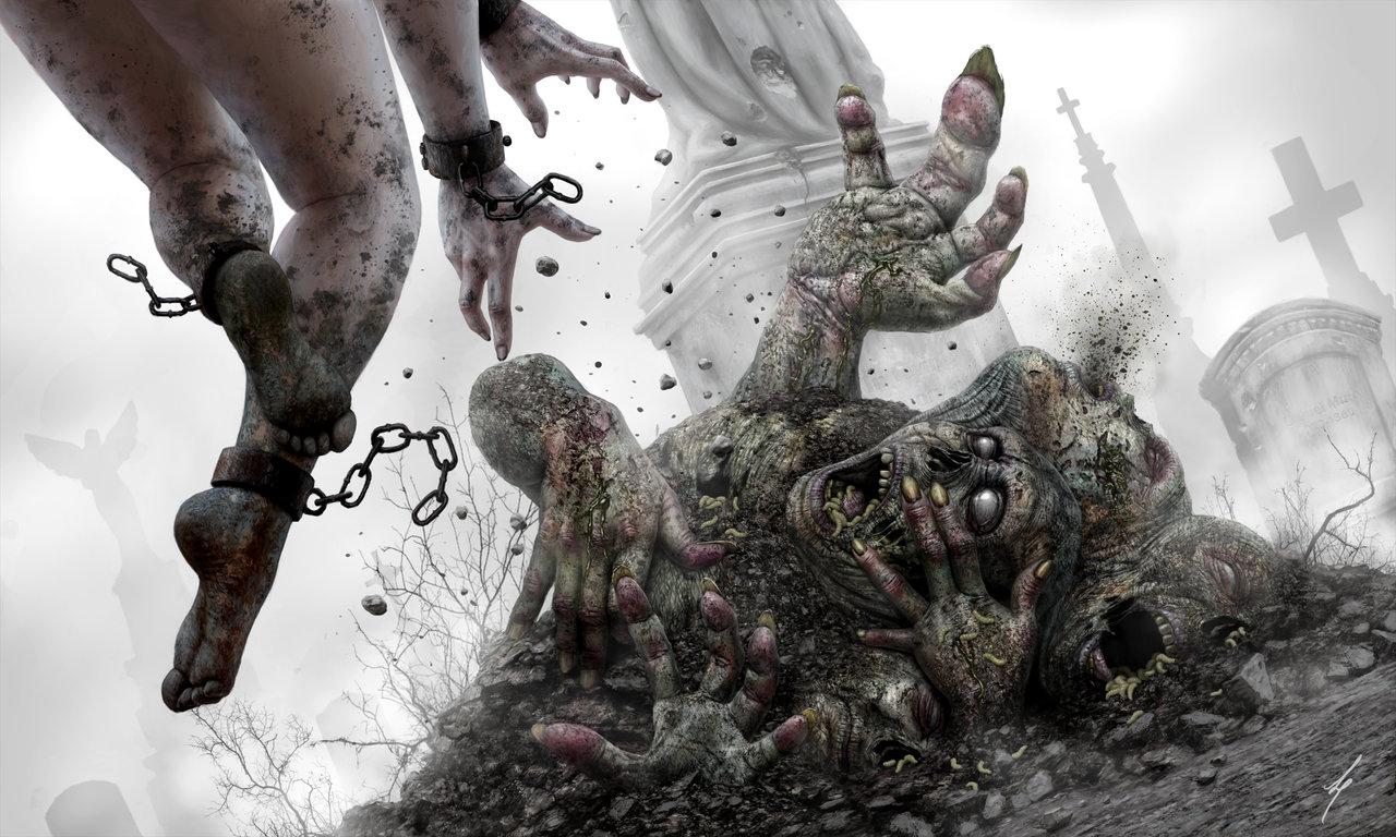 Фантастические иллюстрации - Художник Liam Peters