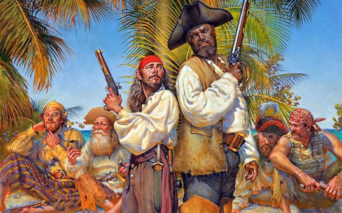 5. Носить на себе золото Проколотая мочка уха подразумевала, что моряк побывал во всех уголках мира