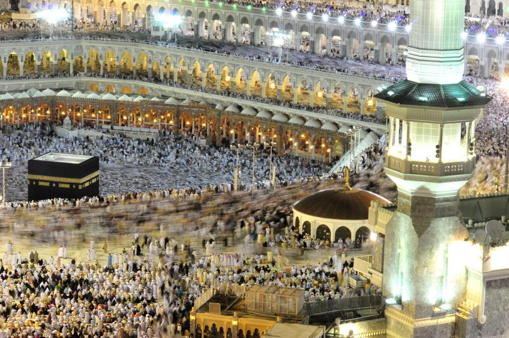 Мечеть аль-Харам. Стиль — исламская архитектура. (Al Jazeera English)